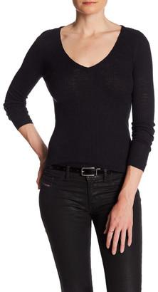 360 Cashmere Roxanna V-Neck Sweater $150 thestylecure.com