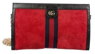 Gucci Medium Suede Ophidia Bag