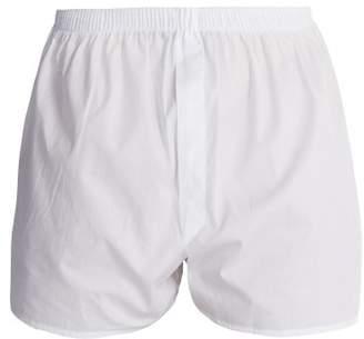 Sunspel - Classic Cotton Boxer Shorts - Mens - White