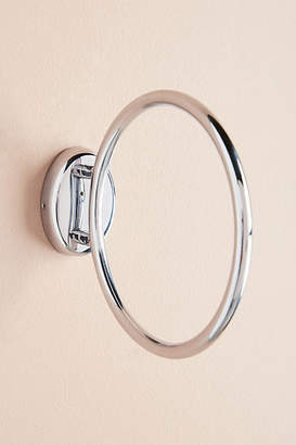 Anthropologie Brushed Geo Towel Ring