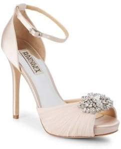 Badgley Mischka Tad Embellished Stiletto Sandals