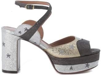 L'Autre Chose Ferrer Tricolor Platform Sandal