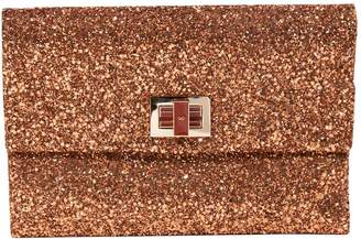 Anya Hindmarch Glitter clutch bag