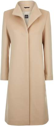 Cinzia Rocca High Neck Wool Coat
