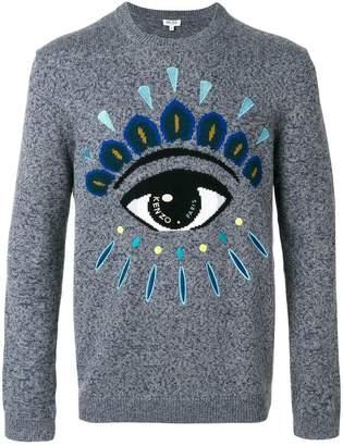 Kenzo Eye intarsia sweater