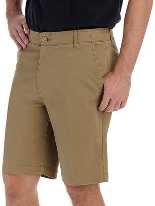 Lee Extreme Comfort Flat Front Twill Short Big and Tall