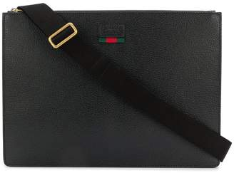 Gucci logo laptop bag