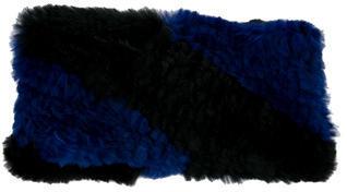 Adrienne LandauAdrienne Landau Fur Knit Headband w/ Tags