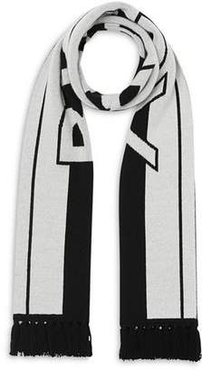Burberry Logo Football Scarf