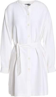 Vanessa Seward Belted Silk Mini Dress