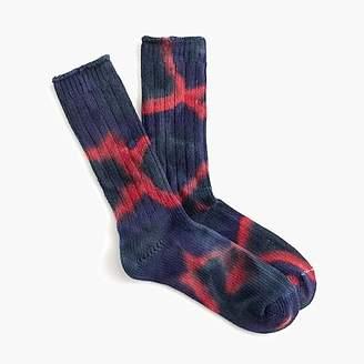 J.Crew Anonymous IsmTM tie dye crew socks