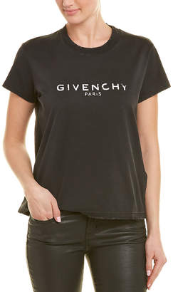 Givenchy Distressed T-Shirt