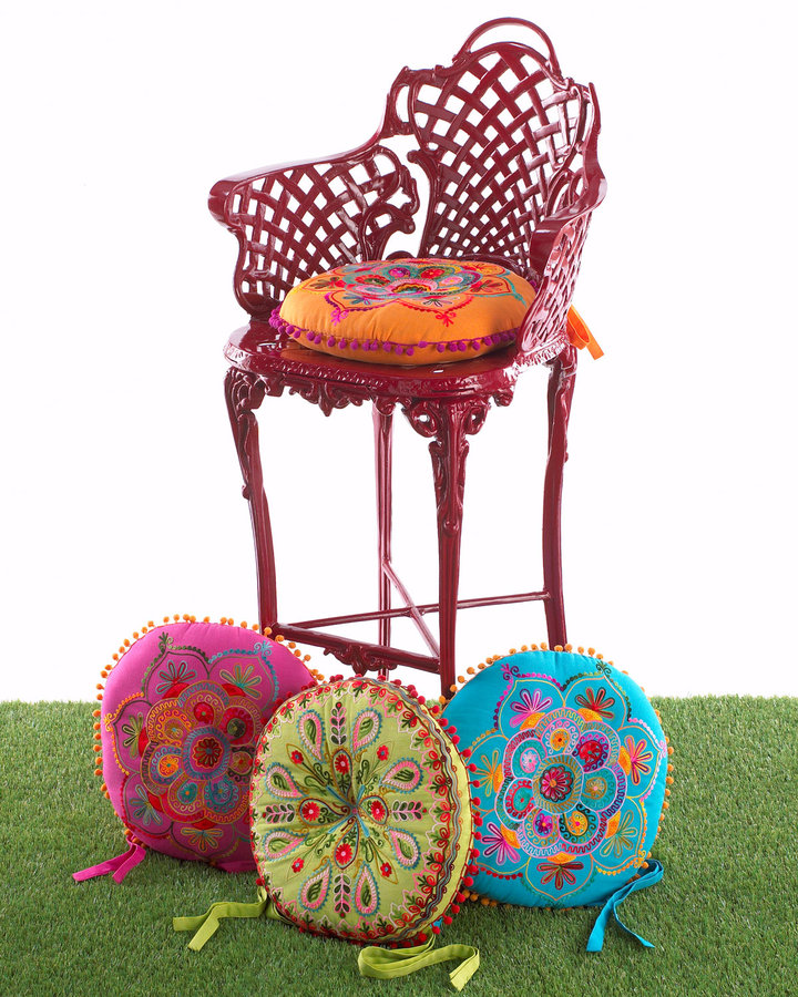 Horchow Barstool Cushions
