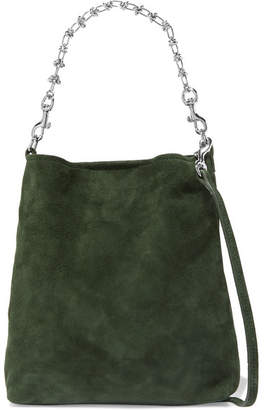 Little Liffner Candy Suede Tote - Green