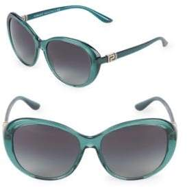 Versace 57MM Oversized Sunglasses