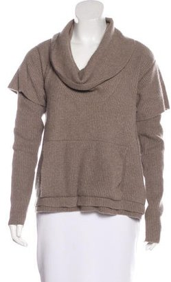 Inhabit Cashmere Rib Knit Sweater $95 thestylecure.com