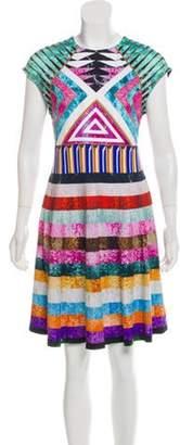 Mary Katrantzou Pinto Printed Dress w/ Tags Blue Pinto Printed Dress w/ Tags