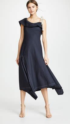 Monse Flap Shoulder Dress