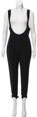 Obermeyer Sleeveless Wool-Blend Jumpsuit