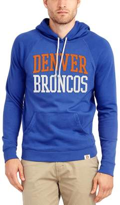 Junk Food Clothing Unbranded Men's Blue Denver Broncos Half Time Pullover Hoodie