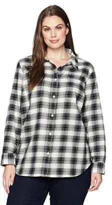 Levi's Women's Plus Size Workwear Boyfriend Shirt