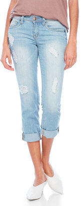 dollhouse Distressed Cropped Jeans $48 thestylecure.com