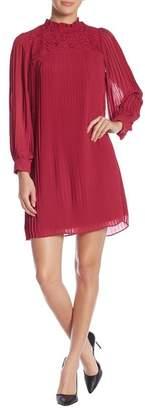 Nanette Lepore NANETTE Pleated Chiffon Dress