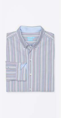 J.Mclaughlin Westend Modern Fit Shirt in Multi Stripe
