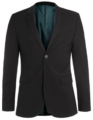 Topman Mens Black Ultra Skinny Fit Suit Jacket