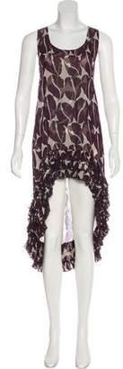 Thomas Wylde Silk Printed Dress