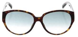 Givenchy Round Tortoiseshell Sunglasses