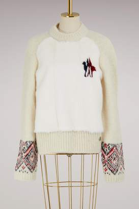 Moncler Gamme Rouge Maryna alpaca sweater