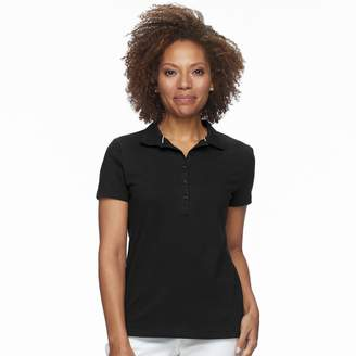 1c1cb71c764 ... Croft   Barrow Petite Essential Short Sleeve Polo