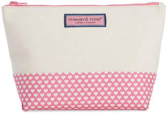 Vineyard Vines Hearts Cosmetic Case