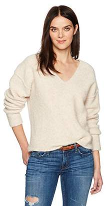 AG Adriano Goldschmied Women's Skye V Neck Sweater