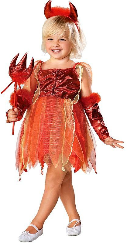 Pretty li'l devil costume - toddler