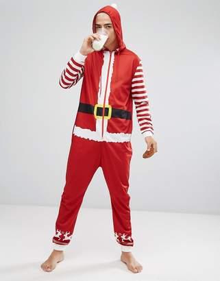 SSDD Holidays Santa onesie with Hood
