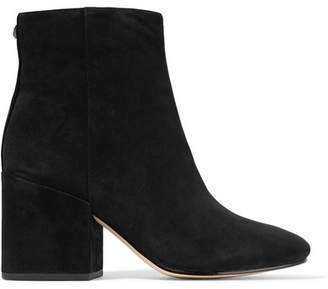 Taye Suede Ankle Boots - Black