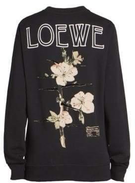 Loewe Cotton Botanical Sweatshirt