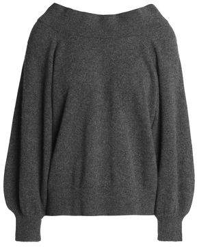 RtA Off-The-Shoulder Cashmere Sweater