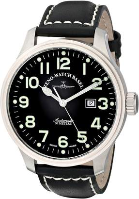Zeno Men's 8554-A1 Pilot Strap Automatic Watch