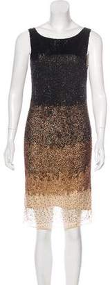 Haute Hippie Ombré Embellished Dress