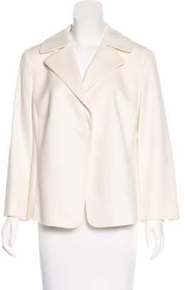 Akris Punto Wool & Angora-Blend Coat