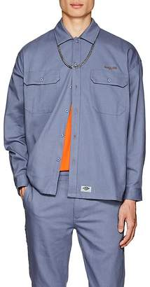 Dickies CONSTRUCT Men's Logo Cotton Twill Workshirt