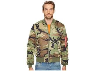 Alpha Industries MA-1 Slim Fit Flight Jacket Men's Coat