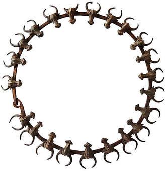 One Kings Lane Vintage Buffalo Necklace