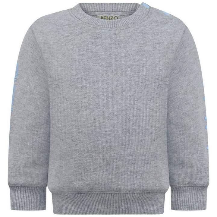 KidsBaby Boys Grey Logo Sweater