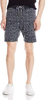 "Volcom Men's Beatnik Elastic Waist 18"" Short"