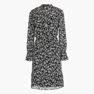J.Crew Mercantile drapey tie-front dress in blossom print