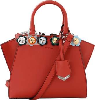 Fendi 3Jours Plexi Flower Mini Shopper Bag